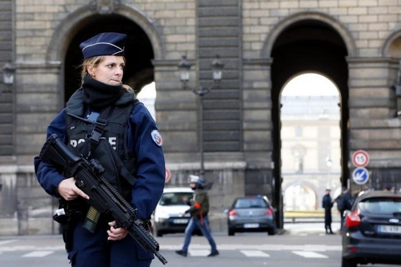Терорист в Лувъра
