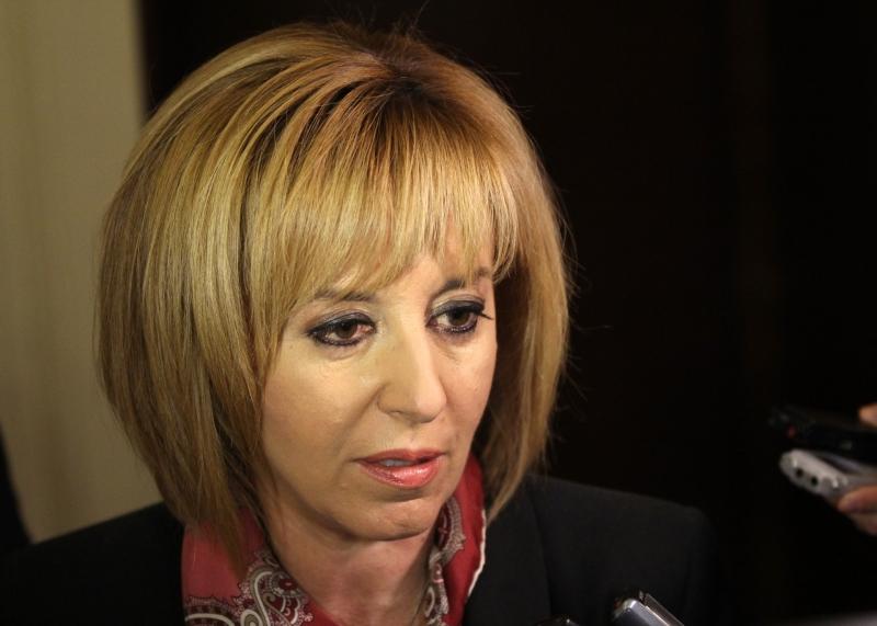 Манолова: Имах най-много номинации, но Нинова и Гергов избраха Радев