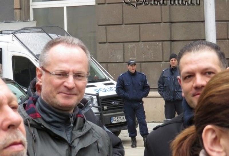 Лозан Панов подкрепи предизборната кампания на Христо Иванов и Радан Кънев