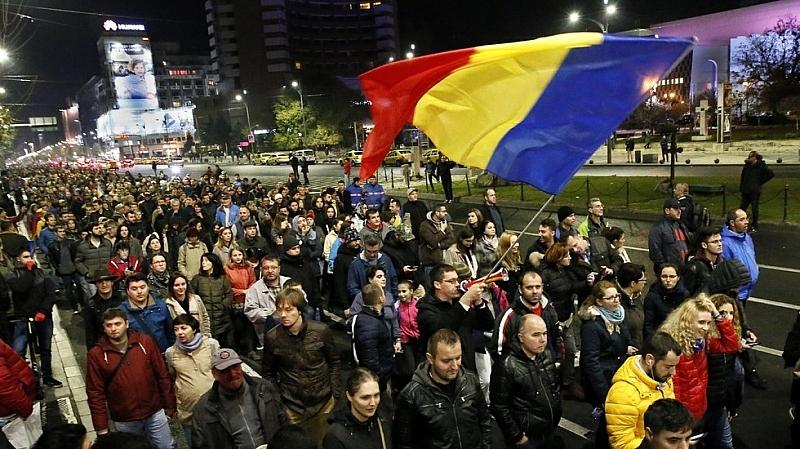 Румънците разследват антикорупционния протест