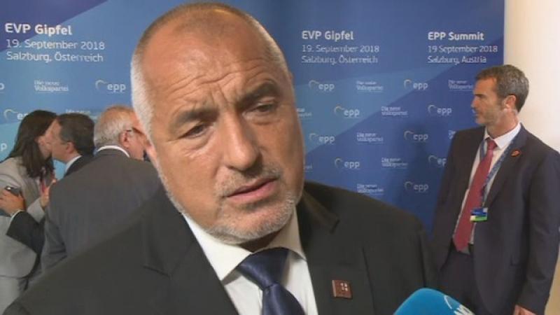Борисов: Санкциите спират икономиката