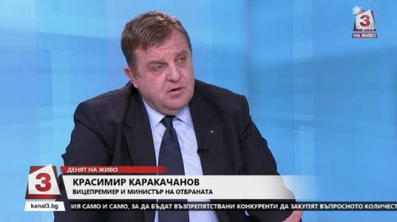 Каракачанов: Настъпих твърде много интереси